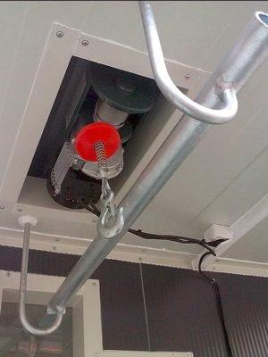 wciagarka elektryczna linowa